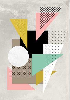 Poster_Abstract 2 di AlikHomeDesign su Etsy