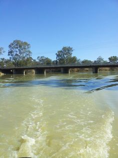 Loxton road bridge at Salt Creek.