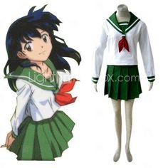 japonaise uniforme scolaire cosplay costume inuyashai
