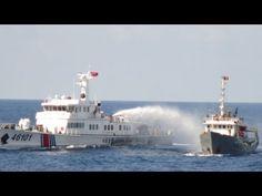 Tàu Kiểm ngư 9226 phá vòng vây và đáp trả sự tấn công của tàu Trung Quốc