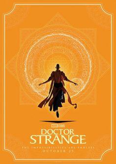 'Doctor Strange' - Poster artwork by Matt Ferguson