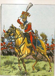 MINIATURAS MILITARES POR ALFONS CÀNOVAS: UNIFORMES ( 19 ) DEL PRIMER IMPERIO . ( Colección BUCQUOY).