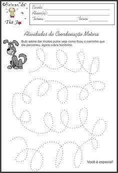 Esta pagina é especialmente para trabalhar nas turma de maternal e ensino infantil 1 e 2. São várias atividades para trabalhar a coorde... Class Activities, Craft Activities For Kids, Preschool Math, Preschool Worksheets, Easy Science Experiments, Back 2 School, Tracing Worksheets, Connect The Dots, Fine Motor