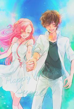 World Code Geass Manga Anime, Manga Girl, Anime Girls, Code Geass Kallen, Euphemia Li Britannia, Mysterious Girl Names, Code Geass Wallpaper, World Code, Image Manga