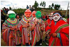 Acabo de compartir la foto de Edgar Asencios Miranda que representa a:   Los Wiraqus - Huancasancos