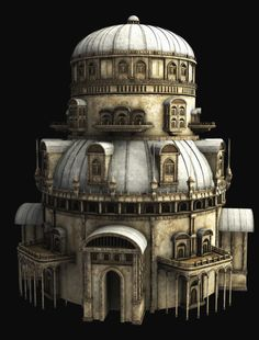 Some, like this miniature tower, are so realistic it's difficult to tell them from the real thing.