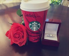 Coffee, Roses and an Agape Diamonds Engagement Ring…. The recipe for the perfect proposal! Congratulations to our customers, Andrea and James, on their recent engagement! Want to see your Agape Diamonds photo on our Social Media? Send your photos to us at : customerservice@diamondslabcreated.com Shop: www.agapediamonds.com #agapediamonds #tumblr #instagram #facebook #socialmedia #giftideas #fashion #jewelry #style #ecofriendly #engagementrings #rose #proposal #love #wedding #creativeproposal