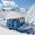 Großglockner - Schneeräumung 2012