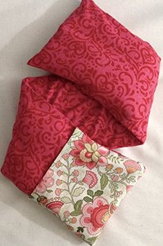 Aromatherapy Eye Pillow Hot Cold Microwave Heat Bag Rice Pack Migraine Stress Relaxation And