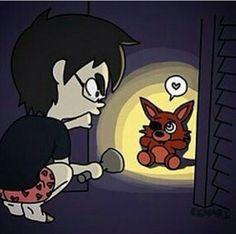 Five nights At Freddy's 4 schattige knuffel Foxy in de kast                                                                                                                                                      More
