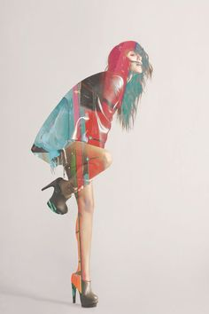 18 Best ideas for fashion collage photography double exposure Arte Fashion, Fashion Collage, Fashion Poses, Paper Fashion, Couture Fashion, Fashion Design, Love Collage, Color Collage, Poses Photo
