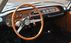Lancia Fulvia Rallye 1.3 Coupé 1968 interior