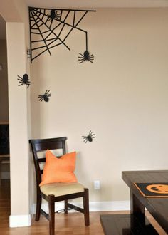 19 Halloween Decorations You Can DIY With Washi Tape via Brit + Co
