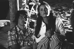 Image about love in Laliter❤ by cecilia ❤ on We Heart It Besties, Angel Show, Couple Laughing, Cute Couples, We Heart It, Tv Shows, Teen, Black And White, Couple Photos