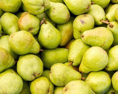 Bartlett pears at the Market. Fine Art Food Photography Print for Home Decor Wall Art. Freshly picked green Bartlett pears on display at the farmer's market. ~~ SELECT DESIRED SIZE USING THE OPTIONS BUTTON ABOVE ADD TO CART. Available in: 5x7, 8x10, 11x14, 12x18, 16x20, 20x30, 24x36 prints.