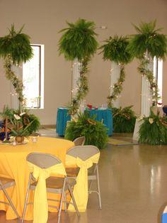 Church Fellowship Hall 50th Wedding Renewal Party