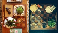 This flea market find became a chic tabletop decor in just a few steps.