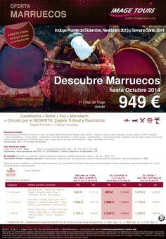 Descubre Marruecos, 11 días de Viaje desde 949€ hasta Octubre 2014 ultimo minuto - http://zocotours.com/descubre-marruecos-11-dias-de-viaje-desde-949e-hasta-octubre-2014-ultimo-minuto-2/