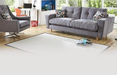 DFS sofas come in fabric and leather. Choose from a great range of sofa beds, leather sofas, corner sofas, corner sofa beds and more household furniture Grey Lounge, Red Sofa, Flat Ideas, Grand Designs, Lounge Furniture, Fabric Sofa, Couch, Sofa Beds, Dfs