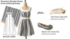 (via Make This Look: Stourton Streaks Dress | The Sew Weekly - Sewing & Vintage Lifestyle)