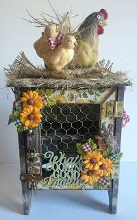 Love From FabScraps: C76 COUNTRY KITCHEN COLLECTION | Tutorial by Tanya Cloete
