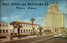 U.S. Post Office and Hotel Westward Ho