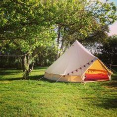 Brick Kiln Farm Campsite in Suffolk. Camping or Glamping.