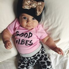 GOOD VIBES!! Uugh the hat an leggings pull it together!! & could recreate this outfit easy!! The onsie looks suuper easy to DIY!
