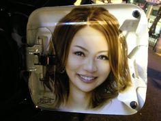エアーブラシ|自動車の外装・内装ドレスアップ ONESTAR★ワンスター  香里奈 エアーブラシ ポートレート