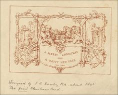 The Very First Christmas Card Ever