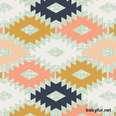 Arizona Aztec Minky Baby Blanket, Southwestern Peach Gold Mint Navy Nursery Bedding, Arizona Agave Field - http://babyfur.net/arizona-aztec-minky-baby-blanket-southwestern-peach-gold-mint-navy-nursery-bedding-arizona-agave-field.html
