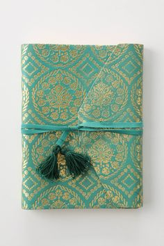 Anthropologie's Aurous Emblem Journal. Gorgeous. Would carry this as a clutch if I could.