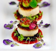 Appetizers Gourmet Fine Dining Ideas Appetizers Gourmet Fine Dining IdeasYou can find Fine dining food and more on our website. Gourmet Food Plating, Gourmet Appetizers, Gourmet Recipes, Gourmet Foods, Gourmet Desserts, Plated Desserts, Easy To Digest Foods, Snacks Für Party, Cereal Recipes