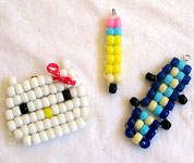 Bead Buddies: Animals and Cartoon Characters from Pony Beads - Back-to-School Craft Ideas - Kaboose.com