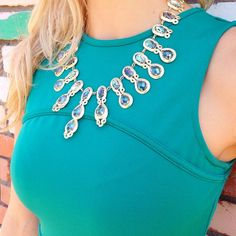 Kendra Scott Whitney Statement Necklace in Abalone Gypsy. #KendraScott