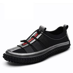 Fashion Brand Casual Shoes Mens Sneakers Black Grey