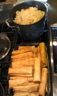 Christmas Eve & tamales - brings back lots of memories.  We're gonna be making our Christmas tamales this weekend...momma would be so proud.