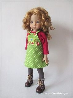 Little-Darling-Effner-doll-Outfit-4-piece-OOAK-Magda