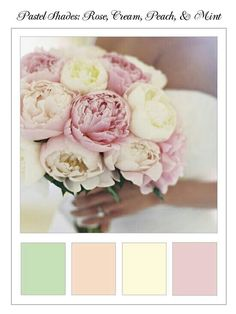Pink Palette Peonies