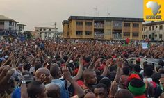 Biafra – BIAFRAEXIT Referendum Draws Closer As Innumerable Multitude, Troop Out In Solidarity With Kanu, To Say No Election In Anambra Troops, Closer, Dolores Park, Facts, Sayings, Lyrics, Quotations, Idioms, Quote