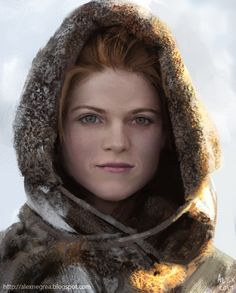 Ygritte by alexnegrea on deviantART