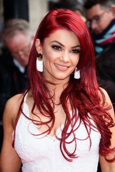 Dianne Buswell attends the TRIC Awards 2018 Crimson Hair, Wedding Hairstyles, Cool Hairstyles, Long Red Hair, Strictly Dancers, Red Hair Color, Beautiful Redhead, Mermaid Hair, Dream Hair