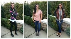 three looks for wearing leather #topjacketpants  www.tailoredtogether.com
