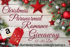 Christmas Paranormal Romance Giveaway