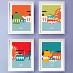 Just ordered these FORTIORI Catherine Holms Prints for the kichen diner
