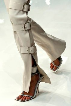 Acne | Spring 2013-like the belt for details