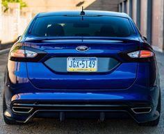 Blue Fusion Rear
