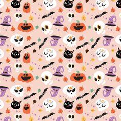 Halloween Wallpaper Cute, Cute Fall Wallpaper, Halloween Backgrounds, Cute Wallpaper Backgrounds, Cute Wallpapers, Feliz Halloween, Disney Halloween, Cute Halloween, Vintage Halloween