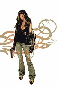 Witchblade by Jeff Spokes *
