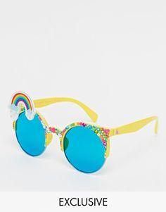 Declaración De Embrague - Gafas Vintage De Color Beige Por Vida Vida mKCc44dAb